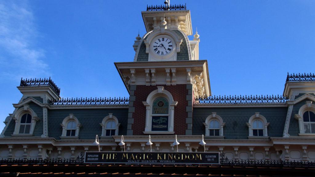 Magic Kingdom Main Street USA Train Station